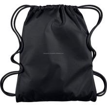 wholesale cheap sport basketball nylon polyester mesh sport drawstring bag, soccer rope bag