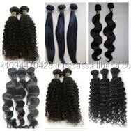 100% Unprocessed Virgin Brazilian Hair/Malaysian Hair/Peruvian Hair