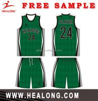 Healong Digital Print Discount basketball jersey design 2013 sublimation basketball jersey