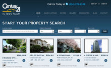 Professional in real estate B2B website design