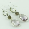 Real Treasure Faceted !! Multi Gems 925 Sterling Silver Earring, Fashion Silver Jewelry, Indian Silver Jewellery