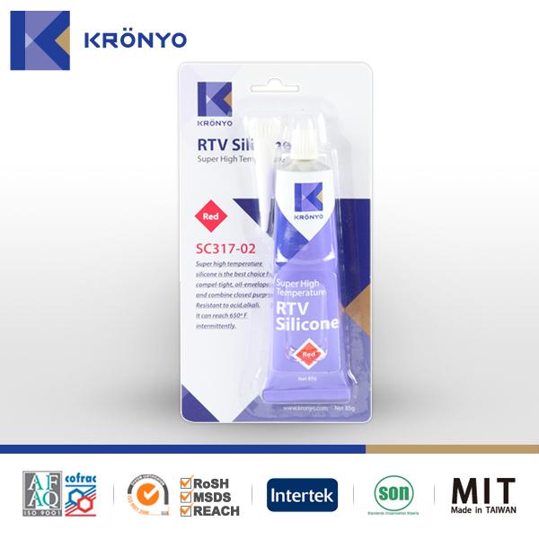 KRONYO Clear RTV adhesive glue aquarium silicone sealant silicone