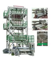 Import Inverter Control Automatic Three Layer Co-extrusion Plastic Film Blowing Machine