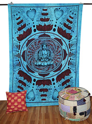 Hippie Yoga Mat Mandala Beach Throw Beach Roundie Yoga Mat Round Table Cover Mandala Tapestry