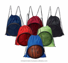School Team, Club Ball Holder Drawstring Bag (Soccer, Basketball, Rugby etc)