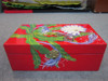 Japanese flowers style on lacquer box, decor lacquer box with high quality from Vietnam