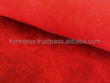 home decor plain check flannel fabric
