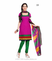 Neck Designs Ladies Salwar Kameez Suit For Churidar