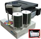 Impressora de CD DVD automatizada, com tinta contínuo epson CISS, 220 capacidade de discos, 3 centavos por impressão!