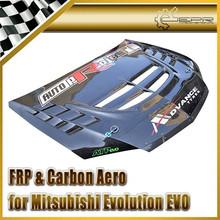 For Mitsubishi Evolution EVO 8 9 Voltex Cyber Evo Hood (Track Version)(Not with hood latch)