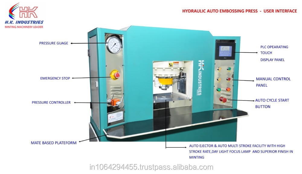 coin minting machine for sale