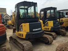 Used Komatsu 55 digger Midi PC55 excavator PC55MR-2