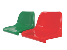 Arena Plastic Stadium Chair with Backrest