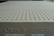 Lien A Latex mattress- 7 ZONE - High quality - 100% Latex Good for health