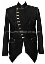 Steam punk Leather jackets Steam punk Army Jackets