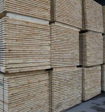 Fresh / AD or KD SPF Wood Elements for manufacturing pallets