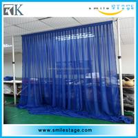 2015 Factory wholesale upright tiffany blue fabric backdrop