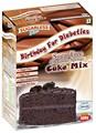 Sin azúcar de Chocolate de la torta de esponja de la mezcla