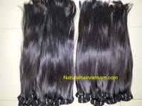 """Straight double weft hair 8-44"""" natural Color 100% Virgin Vietnam Remy Human Hair Machine made Skin wefts"""