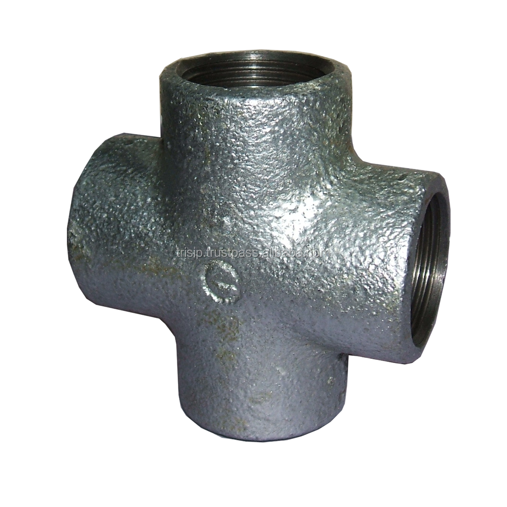 Crosses banded malleable iron pipe fittings buy