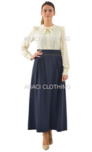 turkey skirt long maxi modern ladies casual office wear / smart and high waist from istanbul