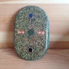 Orgonite pad under the mobile phone - solid orgone