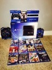 BUY 1 GET 1PSP FREE Original Sales For New Latest Play Station 4 PS4 500GB console + 10 Free Games & 2 Wireless controller