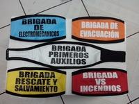Fabricante de Brazaletes para Brigadistas Varias Leyendas.