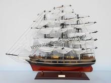 Cutty SARK modelo de madera histórico libera la nave de madera