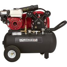 NorthStar Portable Gas-Powered Air Compressor - Honda 163cc OHV Engine, 20-Gallon Horizontal Tank, 13.7 CFM 90 PSI