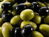 Fresh Green & Black Olives