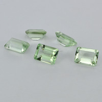 AAA Quality Natural Loose Gemstones,Smooth & Faceted Color Gemstone, New Arrival 2015 Hot Sale Natural Green Green Amethyst