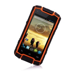 rugged cell phone outdoor mobile with walkie talkie UHF IP68 android smartphone DG1