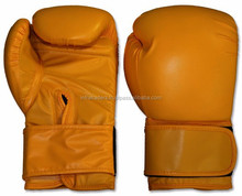 professional boxing gloves /boxing One-step Moulding training gloves Top quality leather taekwondo hand guard