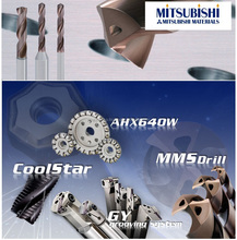 A series of Violet coated drills by Mitsubishi is one of the popular drills in Japan as forerunner of highly effective dril
