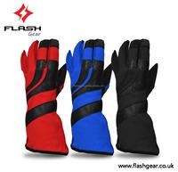 Flash Gear Kart Wear, CIK/FIA homologation Kart Gloves, kart Driving Gloves, Kids Level 2 Karting OEM/ODM kart gloves