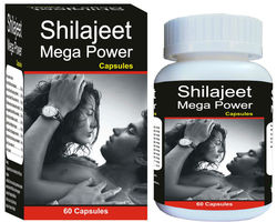Shilajit Mega Power - Aphrodisiac, Mens Health, Stamina, Natural Energy boosters, Stress, Libido, Herbal Supplements