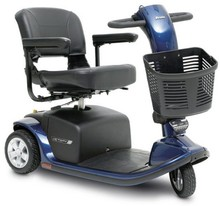Pride Mobility Victory 9 3 Wheel Mobility Scooter - Blue