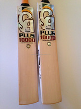 ca plus 10000 english willow bat with 4 grips n 2 practice ball