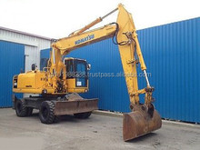 USED MACHINERIES - KOMATSU PW 200-7 WHEEL EXCAVATOR (5795)
