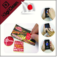 Effective advertising and Marketing Tool Sticky Mobile Phone Screen Cleaner for smartphones, android watch