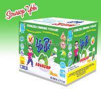 Sterilized Drinking Yoghurt - Soursop flavour - Yobi brand