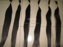 Original hair from Vietnam Human Hair from 8-32 inches, texture: straight, wavy, curly and color: Black and dark brown