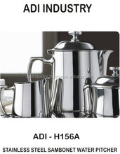 2015 Hot Sales Household STAINLESS STEEL water pitcher