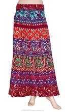 Многоцветный утка, слон печатных юбки