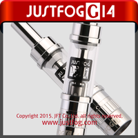 2015 New style latest best selling version disposable e-cigarette, replacement coil e-cig JUSTFOG 14 Series clearomizer