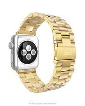HOCO Genuine 38mm / 42mm Stainless Steel Strap Buckle + Adapter for Apple Watch Band