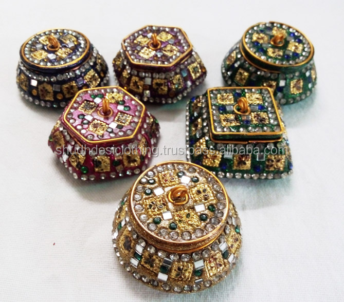 Decorative Gift Boxes Trinket Boxes Pill Boxes From India Buy New Decorative Pill Boxes