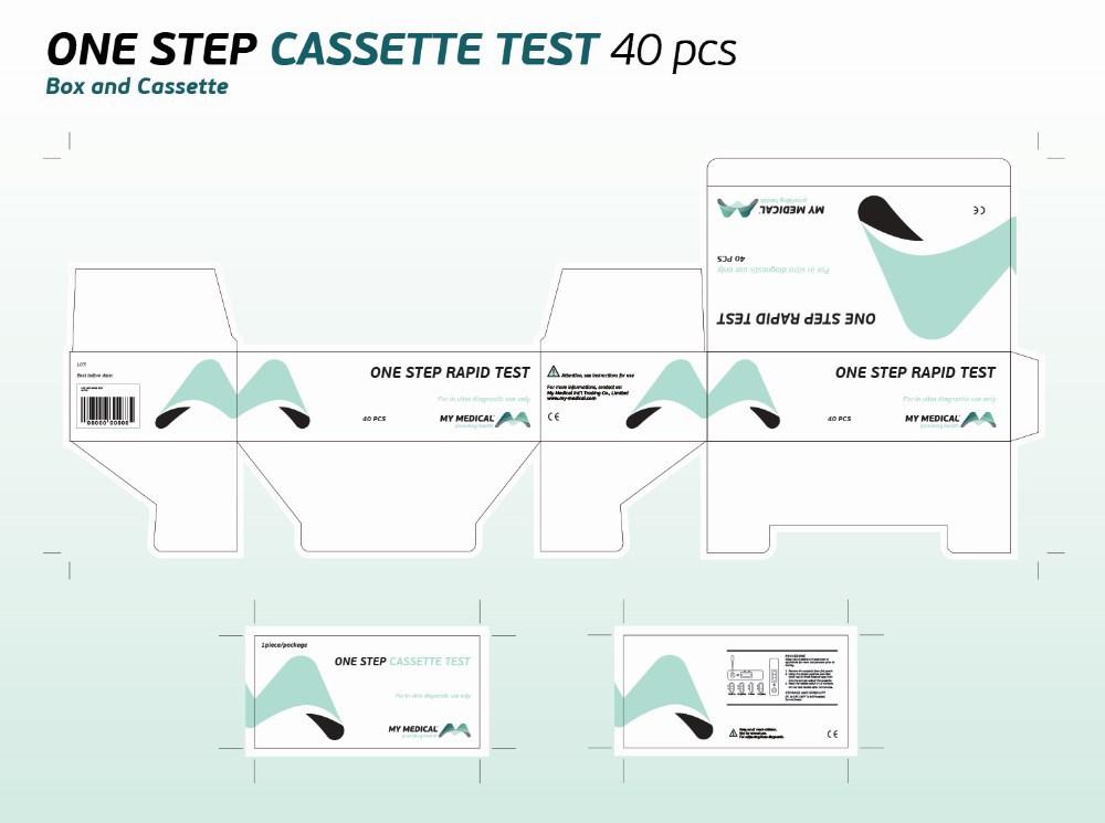 one step rapid test cassette hnsag and. Black Bedroom Furniture Sets. Home Design Ideas