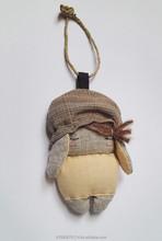 Carolina. Eco, handmade in Italy plushie charm, key chain, gift